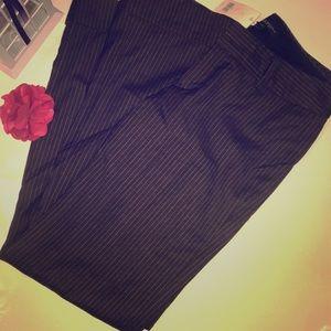 NWT Banana Republic brown Martin Fit trousers